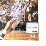 Brook Lopez signed 11x14 photo PSA/DNA Brooklyn Nets Autographed