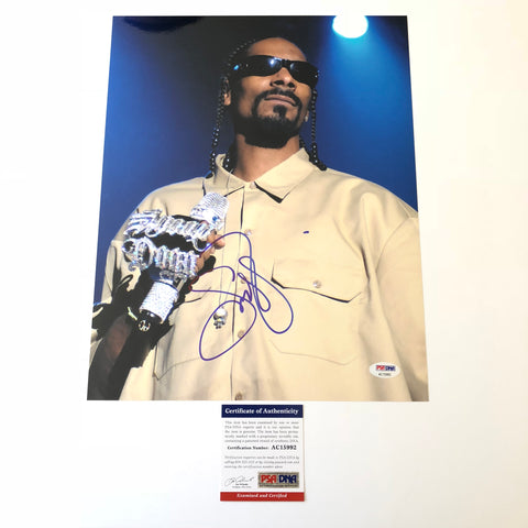 Snoop Dogg signed 11x14 photo PSA/DNA autographed Rapper