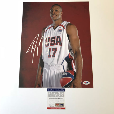 Dwight Howard signed 11x14 photo PSA/DNA Team USA Autographed