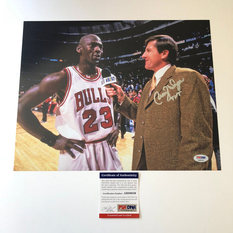 Craig Sager signed 11x14 photo PSA/DNA TNT Autographed