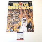 Stephen Curry signed 11x14 photo PSA/DNA Golden State Warriors Autographed Steph