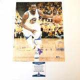 Draymond Green signed 11x14 photo BAS Beckett Golden State Warriors Autographed