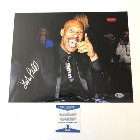 Lavar Ball signed 11x14 photo BAS Beckett Big Baller Brand Autographed