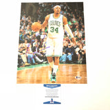 Paul Pierce signed 11x14 photo BAS Beckett Los Angeles Clippers Autographed