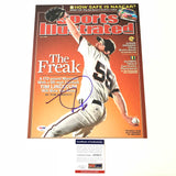 Tim Lincecum signed 11x14 photo PSA/DNA Giants Autographed