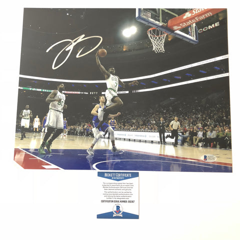 Jaylen Brown signed 11x14 photo BAS Beckett Boston Celtics Autographed