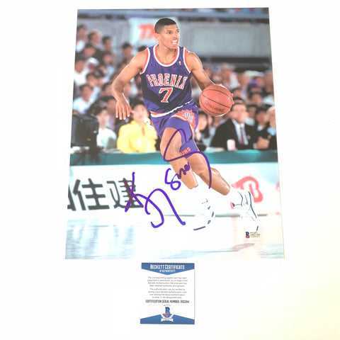 Kevin Johnson signed 11x14 photo BAS Beckett Phoenix Suns Autographed