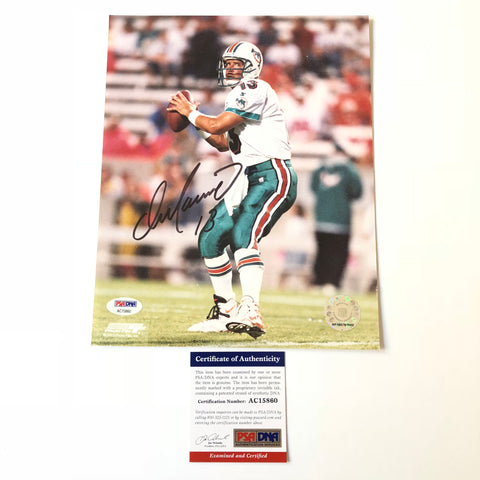 Dan Marino signed 8x10 photo PSA/DNA Miami Dolphins Autographed