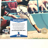 Reggie Jackson signed 8x10 photo BAS Beckett Oakland Athletics Autographed