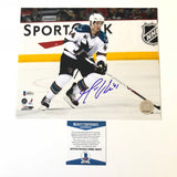 Marc Edouard Vlasic signed 8x10 photo BAS Beckett San Jose Sharks Autographed