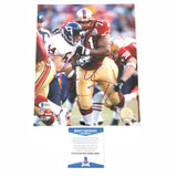 Larry Allen signed 8x10 photo BAS Beckett San Francisco 49ers Autographed