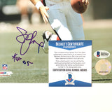 Steve Young signed 8x10 photo BAS Beckett San Francisco 49ers Autographed
