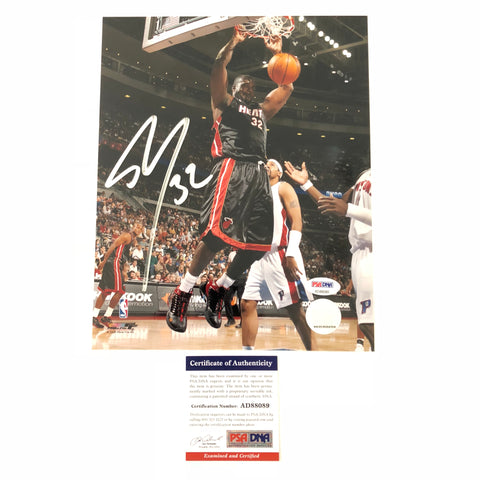 Shaquille O'Neal signed 8x10 photo PSA/DNA Miami Heat Autographed