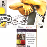 Tim Duncan signed 8x10 photo JSA COA San Antonio Spurs Autographed