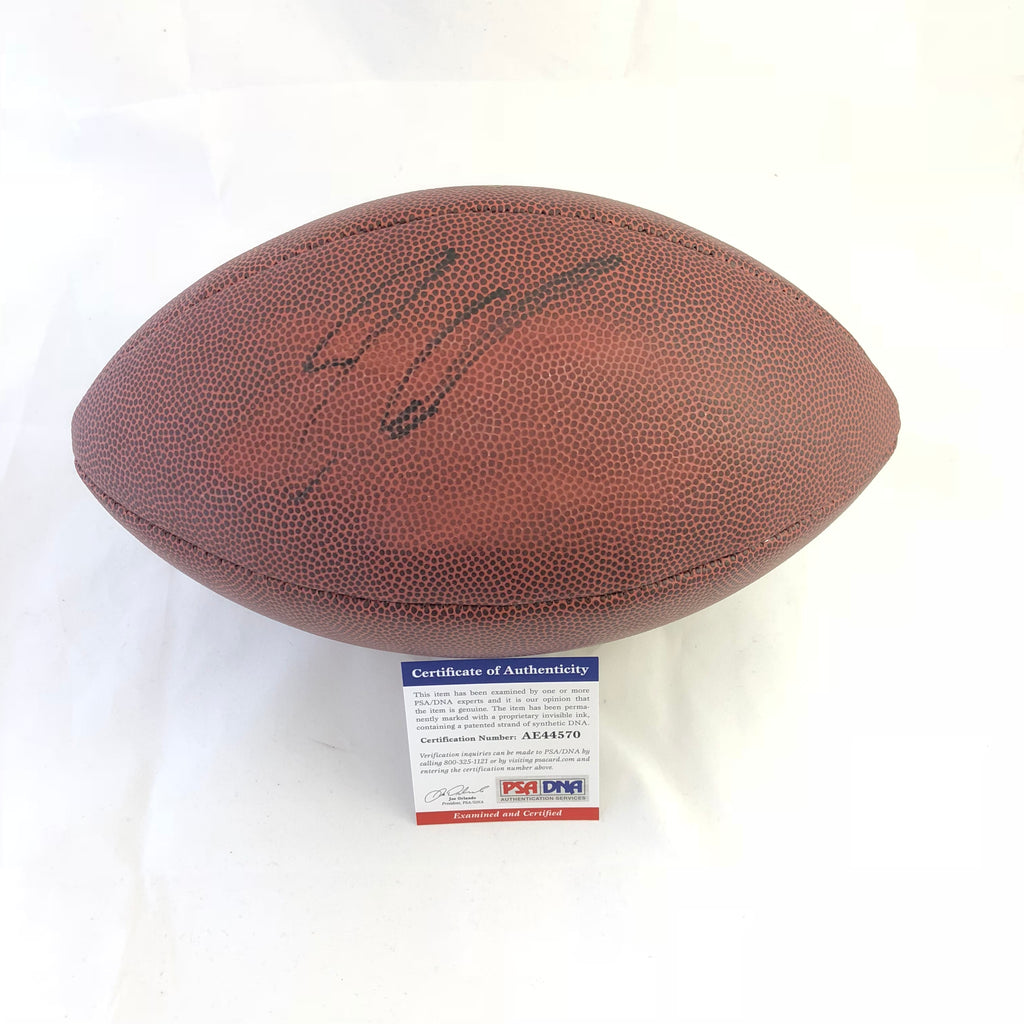 33cfd82c3 Jimmy Garoppolo signed Football PSA DNA San Francisco 49ers autographed