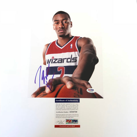 John Wall signed 8x10 photo PSA/DNA Washington Wizards Autographed