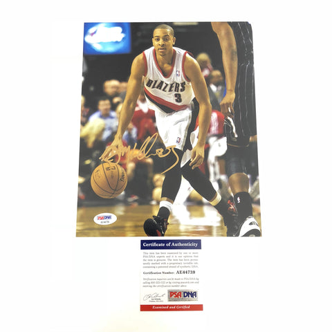 CJ McCollum signed 8x10 photo PSA/DNA Portland Trailblazers Autographed