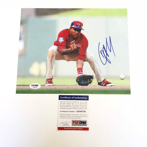 JP Crawford signed 8x10 photo PSA/DNA Philadelphia Phillies Autographed