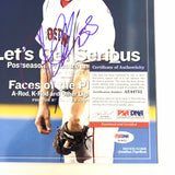 Jonathan Papelbon signed 8x10 photo PSA/DNA Boston Red Sox Autographed