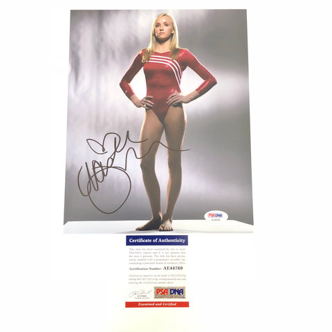 Nastia Liukin signed 8x10 photo PSA/DNA USA Gymnastics Autographed