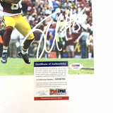 Jordan Reed signed 8x10 photo PSA/DNA Washington Redskins Autographed