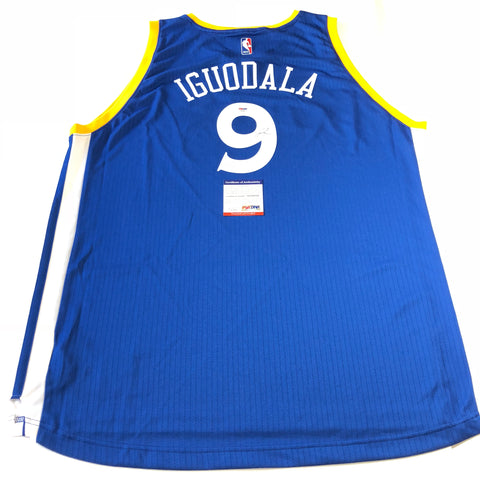 Andre Iguodala signed jersey PSA/DNA Golden State Warriors Autographed