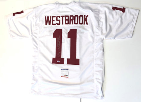 Dede Westbrook signed jersey PSA/DNA Oklahoma Sooners Autographed