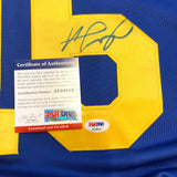 Jared Goff signed jersey PSA/DNA Los Angeles Rams Autographed