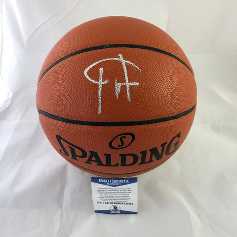 Giannis Antetokounmpo signed Basketball BAS Beckett Milwaukee Bucks autographed