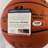 Donovan Mitchell signed Basketball PSA/DNA Utah Jazz autographed