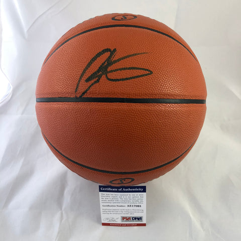 Carmelo Anthony signed Basketball PSA/DNA Houston Rockets autographed
