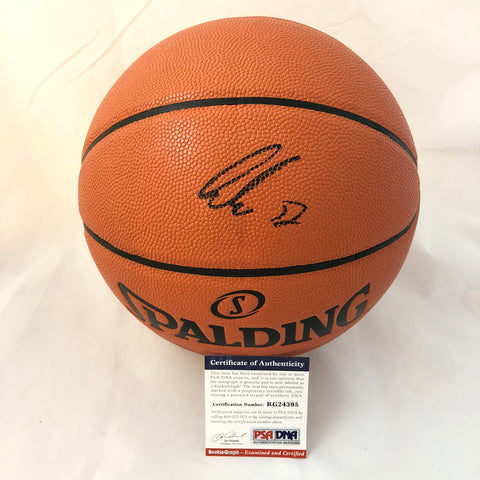 Luka Doncic signed Basketball PSA/DNA Dallas Mavericks autographed