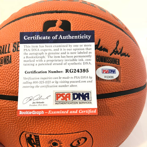 Luka Doncic signed Basketball PSA DNA Dallas Mavericks autographed ... 2d804b040