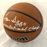 Tom Izzo signed Basketball PSA/DNA Northern Michigan Wildcats autographed