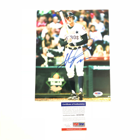 Hunter Pence signed 8x10 photo PSA/DNA Houston Astros Autographed Giants