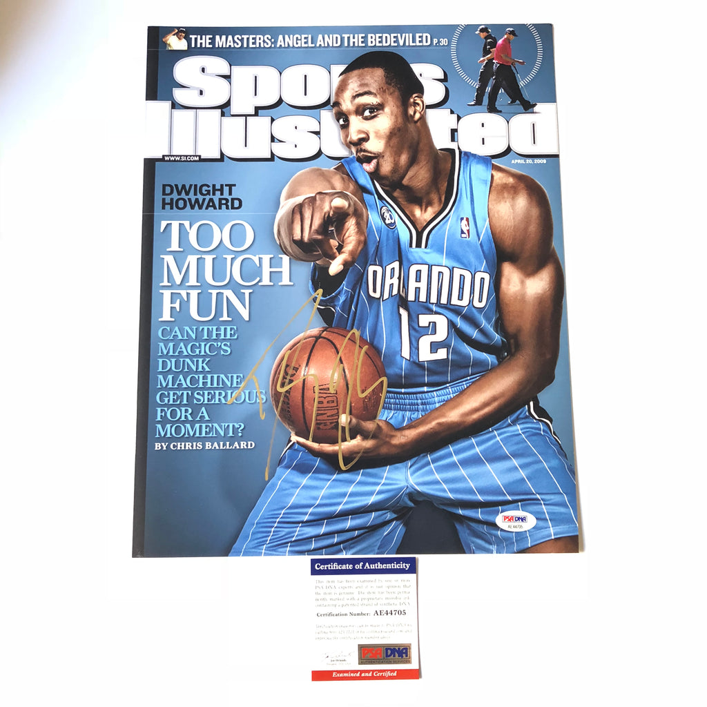 detailed look ed898 d4407 Dwight Howard signed 11x14 photo PSA/DNA Orlando Magic Autographed