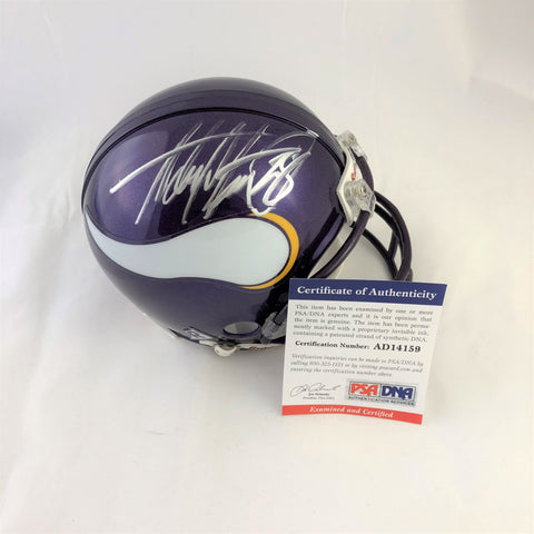 Adrian Peterson signed mini helmet PSA/DNA Minnesota Vikings autographed