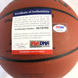 Yao Ming signed Basketball PSA/DNA Houston Rockets autographed