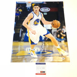 Klay Thompson signed 16x20 photo PSA/DNA Golden State Warriors Autographed