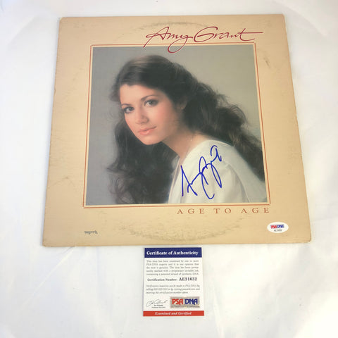 Amy Grant signed Age To Age LP Vinyl PSA/DNA Album autographed