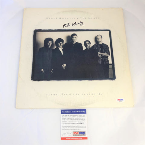Bruce Hornsby Signed Scenes From The Southside LP Vinyl PSA/DNA Album Autographed