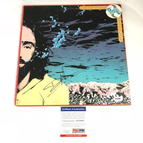 Dave Mason signed Let it Flow LP Vinyl PSA/DNA Album autographed