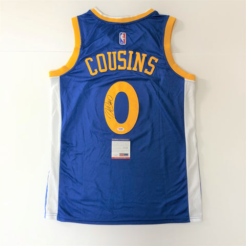 DeMarcus Cousins signed jersey PSA/DNA Golden State Warriors Autographed