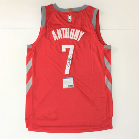 Carmelo Anthony signed jersey PSA/DNA Houston Rockets Autographed Red
