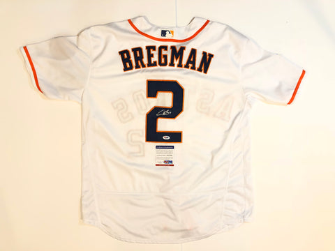 Alex Bregman signed jersey PSA/DNA Houston Astros Autographed White