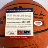 Magic Johnson signed Basketball PSA/DNA Los Angeles Lakers autographed