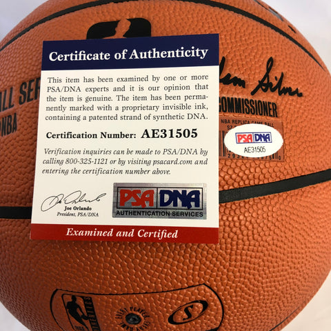 db233b6207f Kevin Durant signed Basketball PSA DNA Golden State Warriors autographed