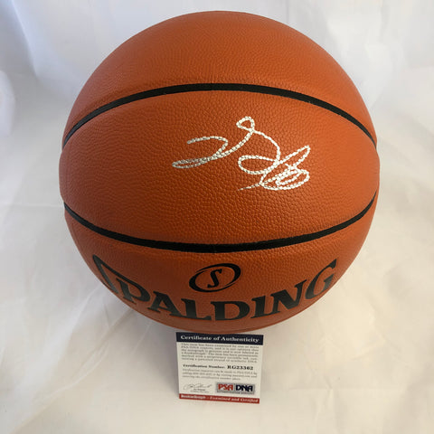 De'Aaron Fox signed Basketball PSA/DNA Sacramento Kings autographed
