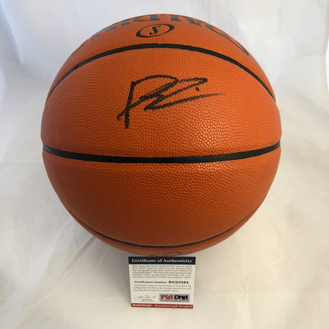 Dennis Smith Jr. signed Basketball PSA/DNA Dallas Mavericks autographed