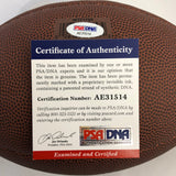 Dante Pettis signed Football PSA/DNA San Francisco 49ers autographed